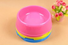 Pet dog bowl color small cat food single