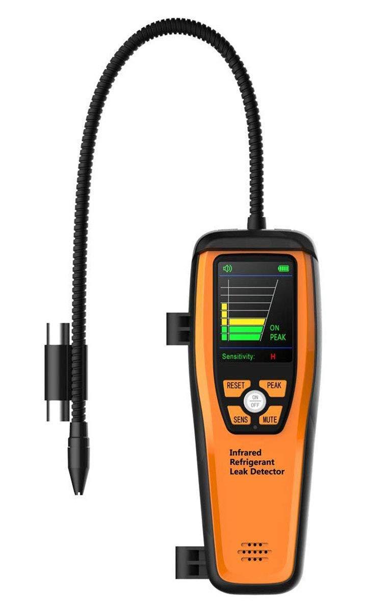ILD-200 Avançado Refrigerante Leak Detector de Vazamento de Halogênio de Alta Sensibilidade Portátil Caso 10 Anos de Vida 【3 Anos Warranty
