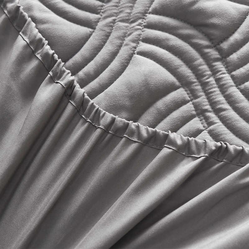 LAGMTA 1 pc 100% de Fibra De Poliéster Capa de Colchão lençol Folha Quatro Cantos Com Folha Elástica Várias especificações 61