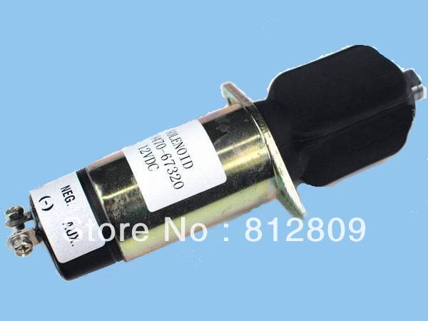 Engine Stop Shut Off Solenoid Valve 129470-67320 1504 12VDC,Free Fast  Shipping new shut off solenoid valve 6667993 fits start engine