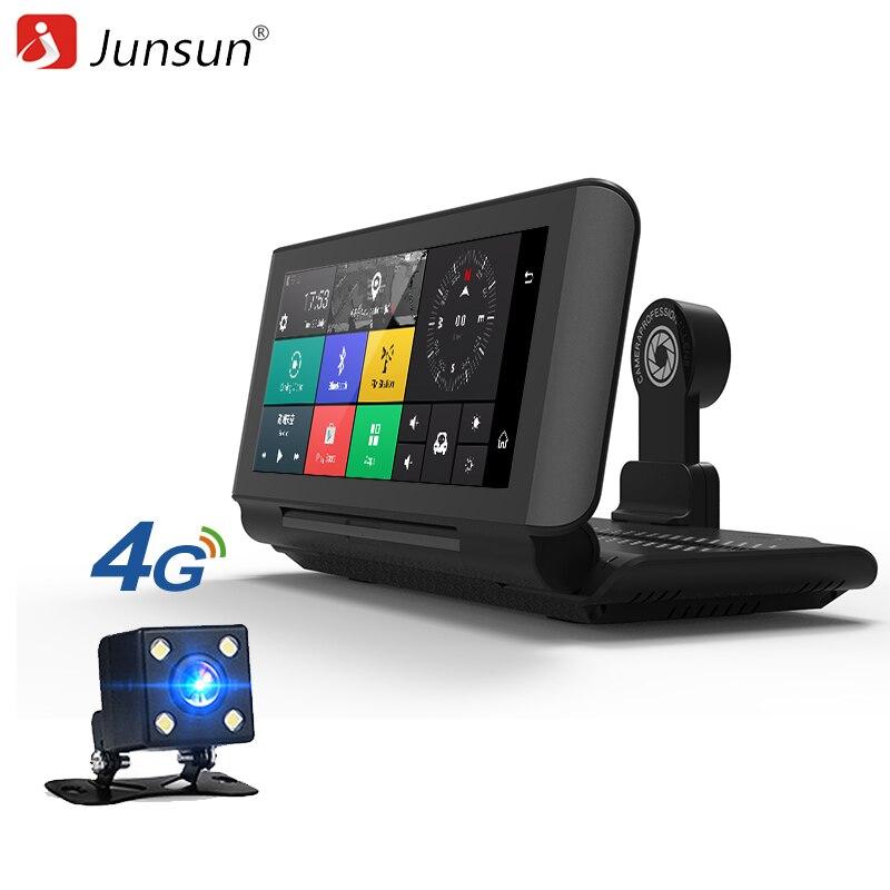 Junsun E29 Pro 4G Car DVR Camera GPS 6 86 Android 5 1 Dashcam Registrar Full