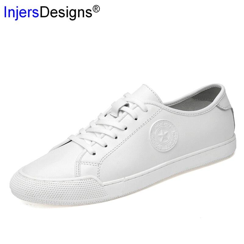 Respirável Pequenos Formadores Prevista Chegada Mocassins Moda white Homens Preto Tênis Macios Brancos Skate Sapatos Novos Não deslizamento Black Da OZWnqnPI
