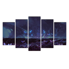 Canvas wall art canvas painting 5 pieces decoration home landscape wall ictures for living room HD print