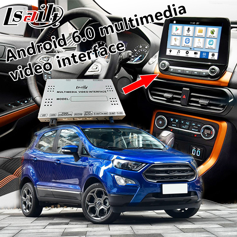 Plug and Play Android multimedia interface for FORD for