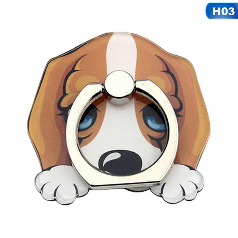 حامل هاتف المحمول حامل أجش الكلب البنصر حامل هواتف ذكية الوقوف ل فون Xiaomi هواوي جميع الهاتف المحمول