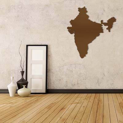 India map globe earth country wall vinyl sticker custom made home decoration fashion design in wall stickers from home garden on aliexpress com alibaba