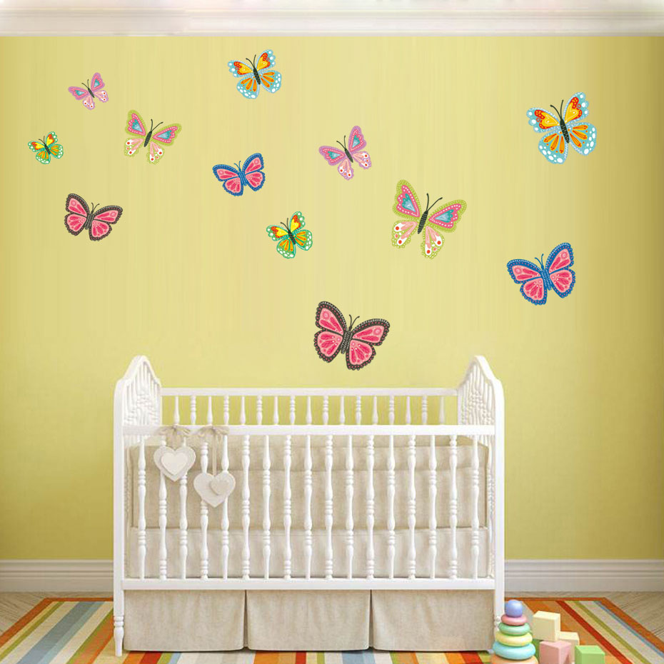 Cool Black 3d Butterfly Wall Decor Images - The Wall Art ...