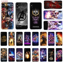Lavaza The Avengers Endgame Hard Phone Case for Apple iPhone 6 6s 7 8 Plus X 5 5S SE for iPhone XS Max XR Cover