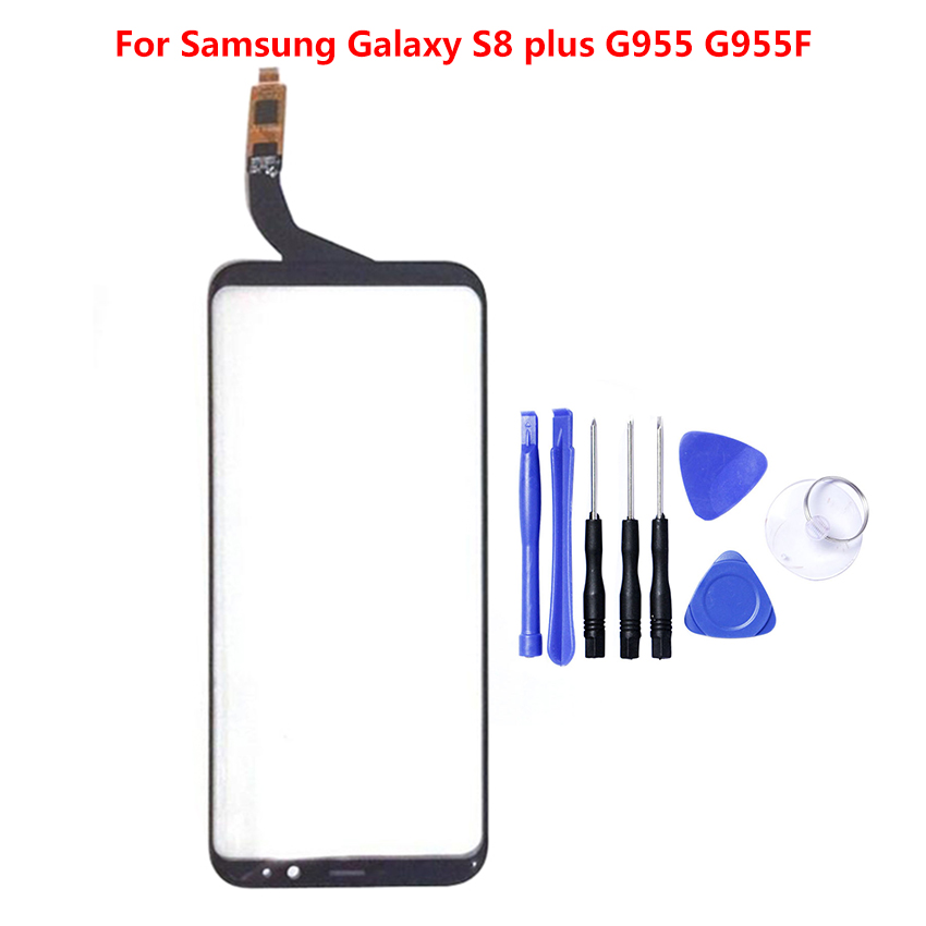Zerosky For <font><b>Samsung</b></font> <font><b>Galaxy</b></font> <font><b>S8</b></font> Plus Screen <font><b>Glass</b></font> Lens <font><b>Replacement</b></font> Front Outer Touch Screen Panel Digitizer image