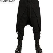 SHOKOTANO мужские повседневные свободные забавные штаны высокого качества в стиле хип-хоп Уличная одежда длинные штаны модные мужские осенние и зимние брюки