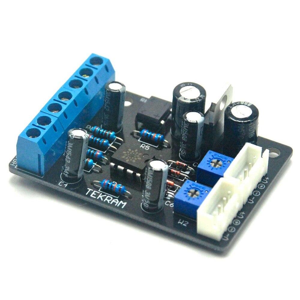 VU Header Meter Power Supply Board Pre-Amp PCB Driver Board Circuit TA7318P