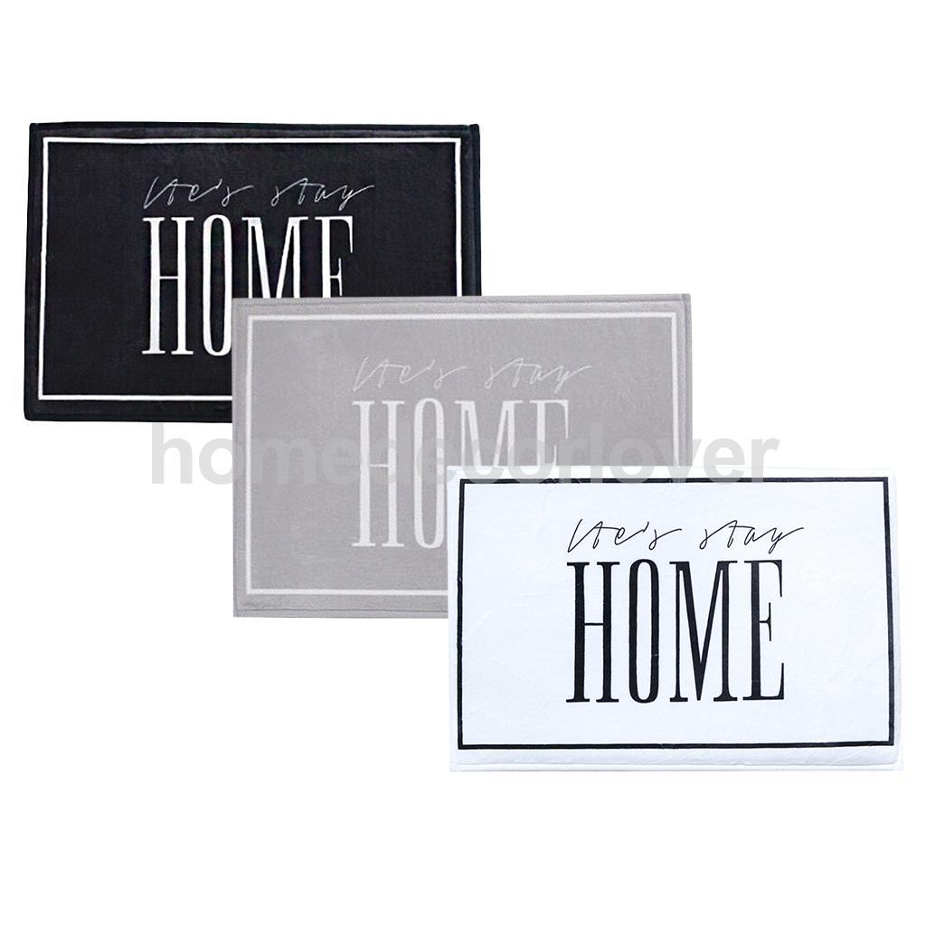 Non Slip Floor Entrance Door Mat Outdoor Doormat Bathroom Kitchen Rugs 3 Colors to Choose
