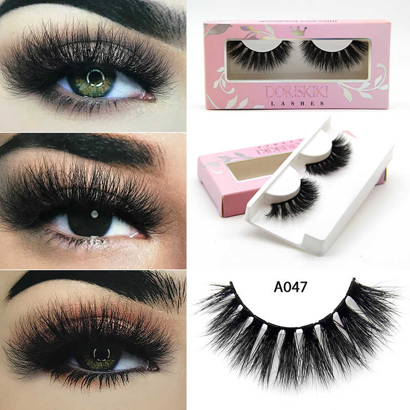 690ed09fc73 A047 3D Mink eyelashes Dramatic winged lashes Bold looks lashes Best option  for party looks lashes