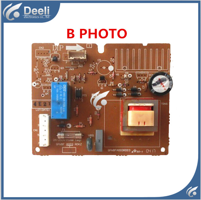 95% new USED good working for refrigerator pc board Computer board QPWBFA003RDE0 95% new used for refrigerator computer board 06020085 06020103 good working