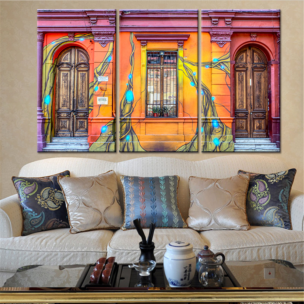 Canvas Wall Art Picture Framework Home Decor Poster 3