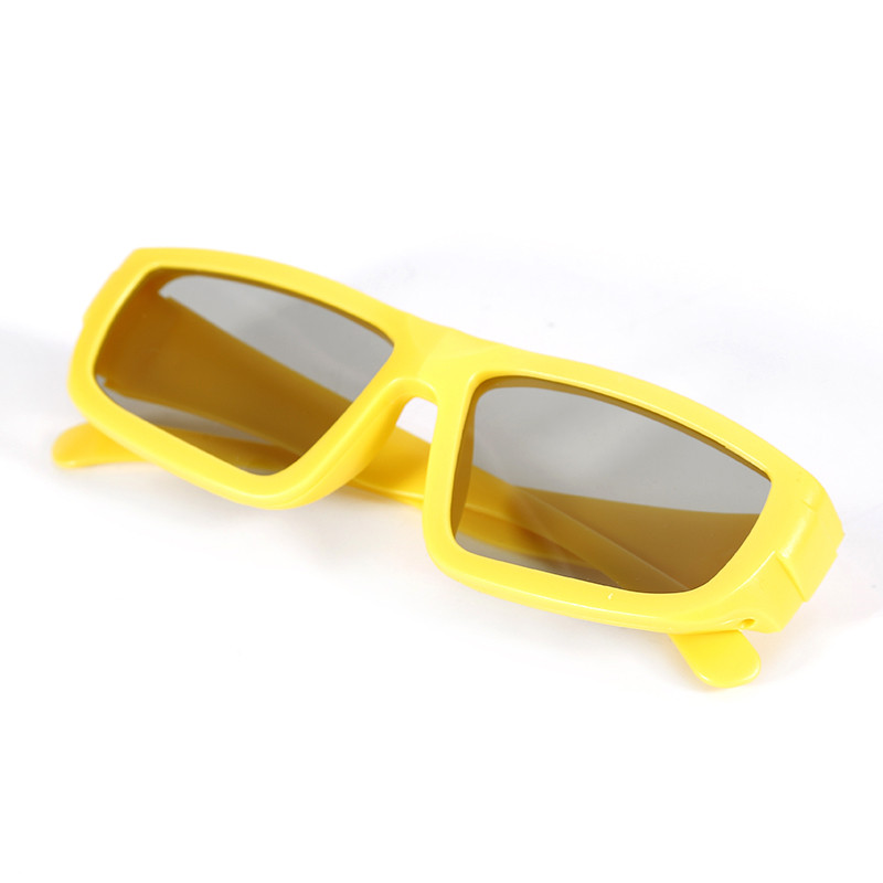 High Quality 3D Glass Passive Polarized 3D glasses For 3D Ready Televisions TV Movie theaters As Gift for Adult & Kid
