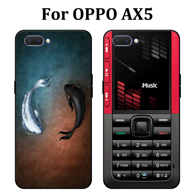 premium selection 657be a60e3 US $3.76 30% OFF|6.2inch For OPPO AX5 Case cute cartoon soft phone Case  OPPOAX5 Cover Protection Shell For OPPO A X5 fundas capas For OPPO AX 5-in  ...