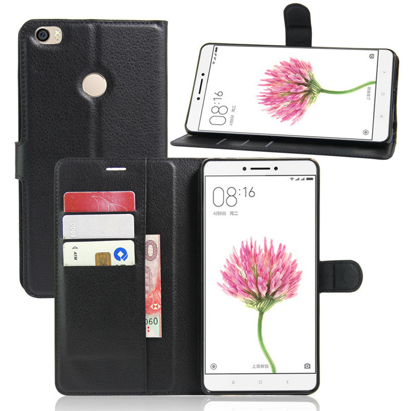 buy popular 7142a 80b81 US $4.66 5% OFF|Wallet Flip Cover for Xiaomi Mi Max Case with Stand Card  Holder PU Leather Case for Xiaomi Mi Max Cover Funda Coque Phone Cases-in  ...