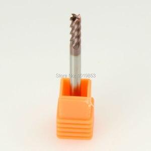 Image 1 - SLONS S300 4x4x75L HRC55 التنغستن الصلبة كربيد نهاية مطحنة ل CNC آلة طحن