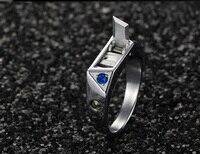 Титан Сталь средства ухода за кожей защиты кольцо инкрустированный алмазами личность Невидимый нож СКРЫТОЕ ОРУЖИЕ артефакт