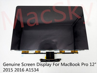 Genuine New Laptop Matrix for MacBook ProCore M 12 2015 2016 A1534 LCD LED Replacement Screen Display LSN120DL01 A01