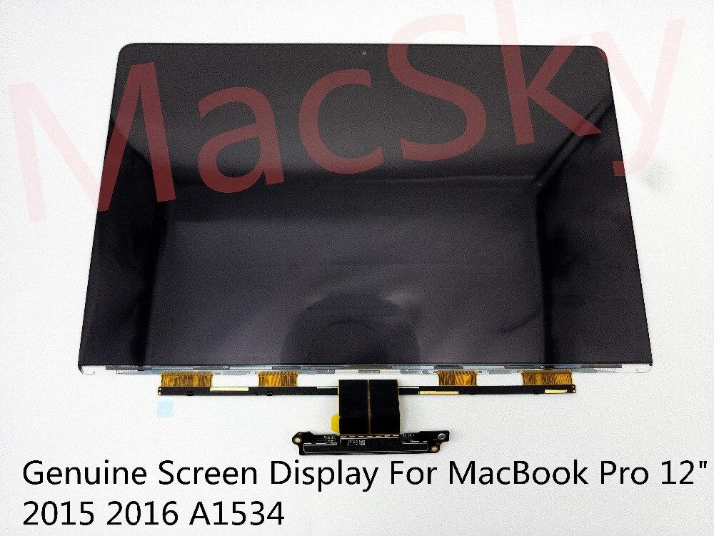 Véritable nouvelle matrice d'ordinateur portable pour MacBook Pro