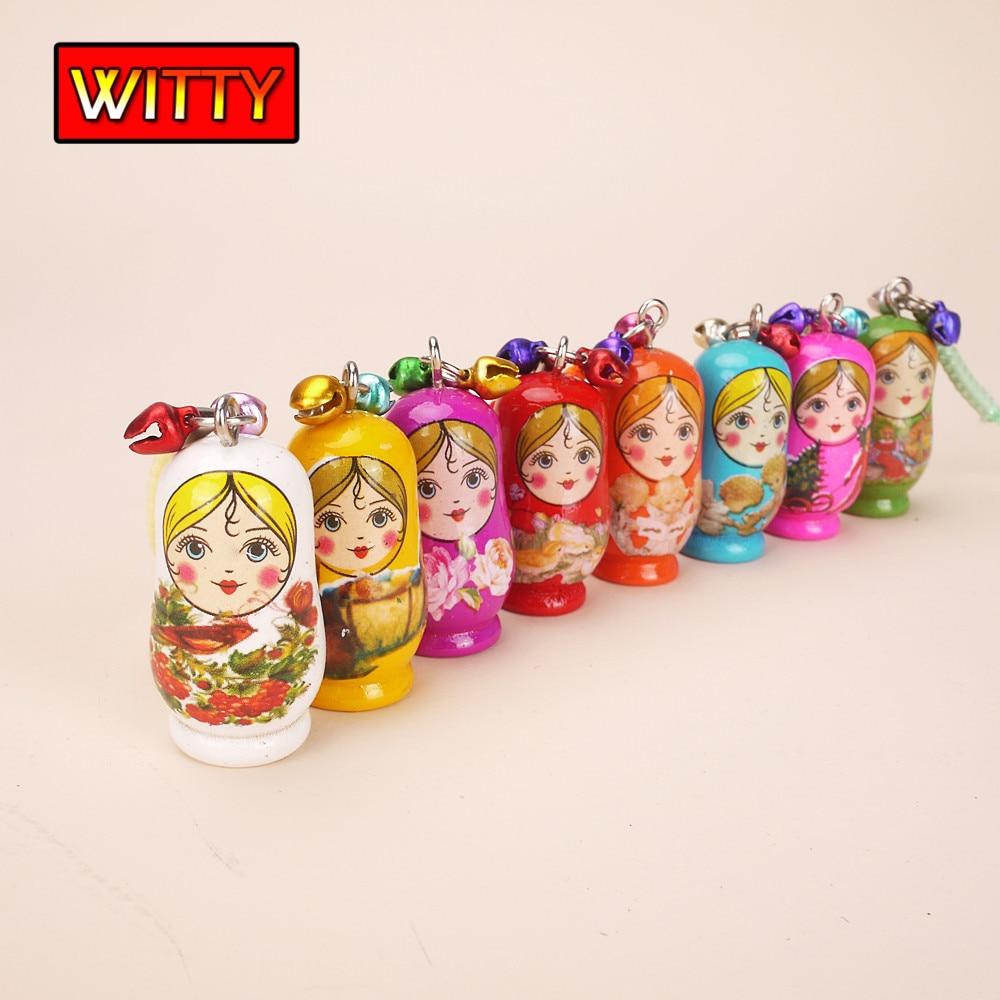 4pieces Happy Grandparents Dolls Pots Miniature Decoration Grandpa Boneka Panggung Orang Anak Laki Anton Matryoshka Gantungan Kunci Kayu Mainan Gadis