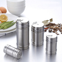 Salt Spice Bottle Kitchen Cooking Storage Jar Accessories For And Pepper Container Stainless Steel 1PCS