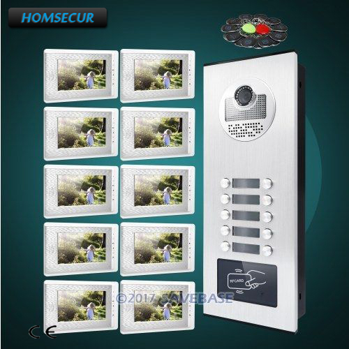 HOMSECUR 7 Hands-free Video Doorbell Security Intercom+Lock Release ButtonHOMSECUR 7 Hands-free Video Doorbell Security Intercom+Lock Release Button