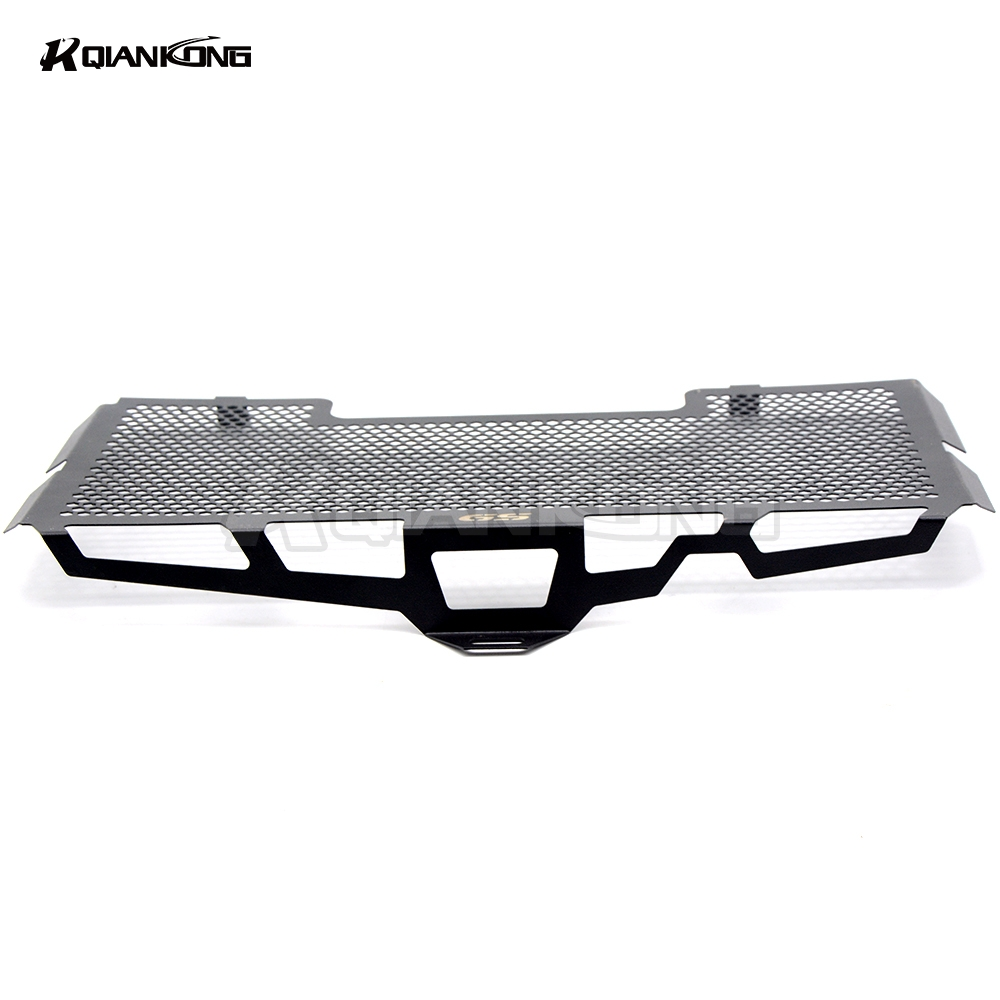 R QIANKONG BLACK For BMW F650 F650GS F700GS F800GS F800R 2008-2018 Stainless Steel Radiator Grille Guard Cover f650gs f800gs motorcycle accessories radiator guard protector grille grill cover for bmw f800s f800r f700gs f650gs f800 s r f650 f700 gs
