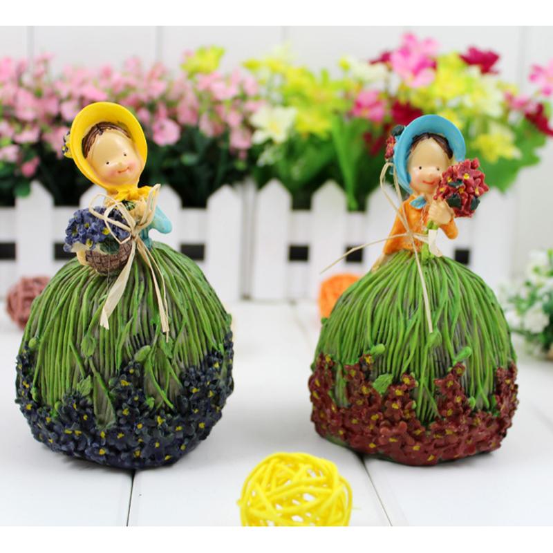 nueva primavera invernadero jardn adornos de resina artesanas de decoracin de muebles para el hogar lavanda