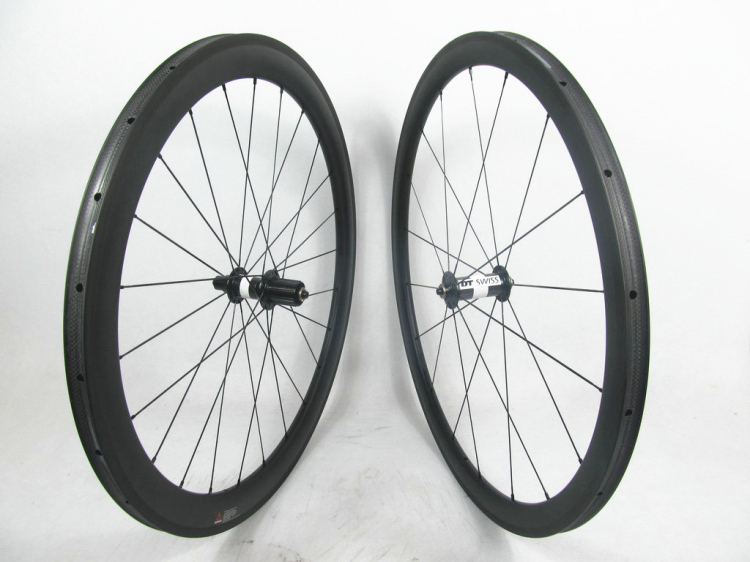 Far sports FSC3850 TM 25 DT180 HUB light weight U shape carbon wheels 38, Mixed profile tubular bike basalt braking carbon wheel