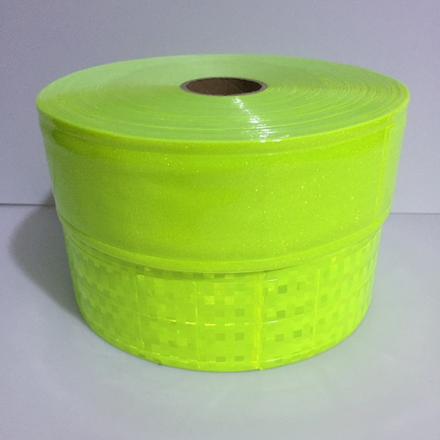 5CM*1M Reflective PVC Tape Flashing Tiny Star Small Square Night Reflective Warning Strip Sewing For fashion Clothing Toy 2