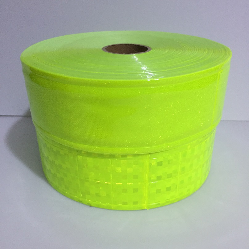 5CM*2M Reflective PVC Tape Flashing Tiny Star Small Square Night Reflective Warning Strip Sewing For Clothing