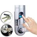 Diestro Control de acceso huella digital de huellas dactilares Biometric Password Lock puerta de huellas dactilares con brida