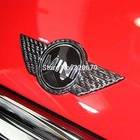 Carbon Fiber Mini Cooper S Logo High Quality Decoration Mini Cooper Countryman F56
