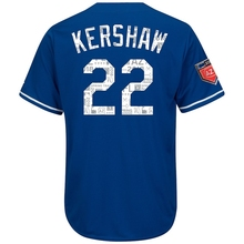 034a0451c07 Game jersey Baseball Men s Los Angeles Dodgers Clayton Kershaw Royal 2018  Spring Training Cool Base Player Jersey
