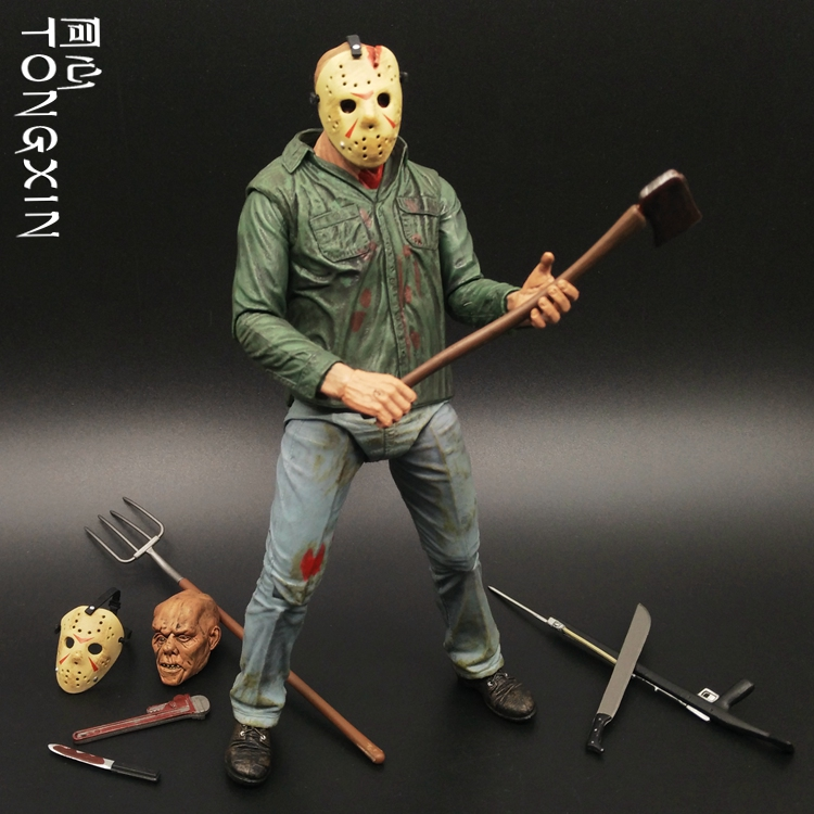 Freddy VS Jason Nightmare on Elm Street Super Action Figure Set A Dead-alive Person Action Figure Model a nightmare on elm street freddy pvc action figure toy anime dracula movie freddy collection juguetes halloween toy gift