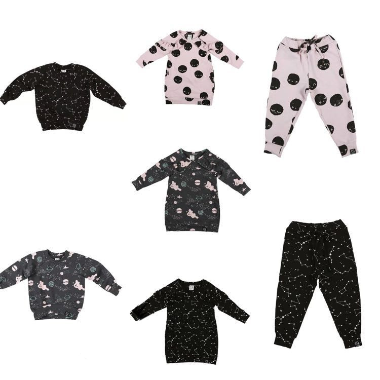 2018 AUTUMN WINTER BABY BOY CLOTHES GIRLS CLOTHING BOYS CLOTHING GIRLS DRESSES BOBO CHOSES SAME KIDS CLOTHES VESTIDOS