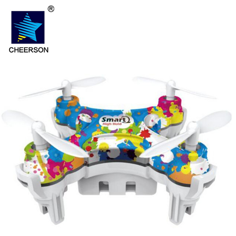 Free shipping upddated version CX 10D Protable 4 Channel quadcopter 2 4GHz 6 Axis Gyro System