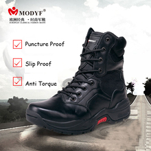 Modyf Men winter boots top quality Military boots wearproof motorbike shoes Fashion outdoor shoes nice look winter warm footwear