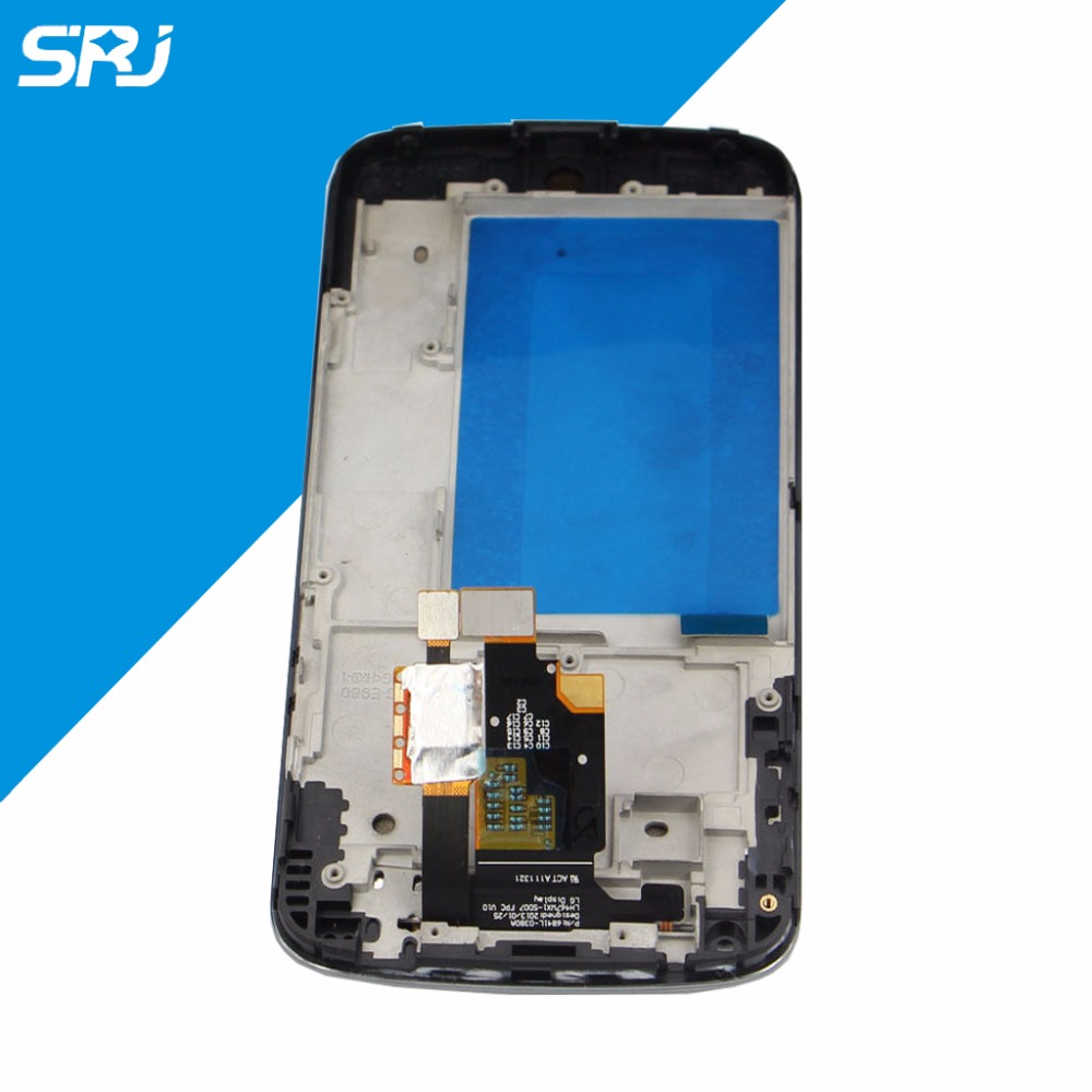 Original 4.7'' LCD Display For LG Google Nexus 4 E960 Touch Screen With Monitor Digitizer Glass Repairment Frame Assembly+Tools new lcd touch screen digitizer with frame assembly for lg google nexus 5 d820 d821 free shipping