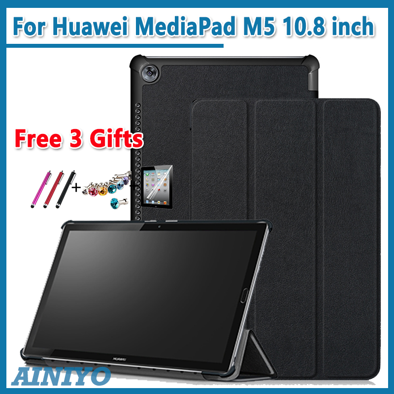 PU Leather Case For Huawei MediaPad M5 pro 10.8 CRM_W19 Tablet PC Protective cover For Huawei M5 10.8 CRM-AL09 CRM-W09 case cover for