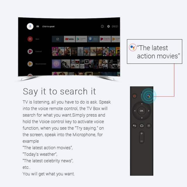 US $60 27 39% OFF|Mecool KM9 Android 8 1 TV Box Smart TV 4K Set Top Box  IPTV OTT Box Amlogic S905X2 4G RAM/32G ROM Dual Band WiFi 5G 100Mbps  BT4 1-in