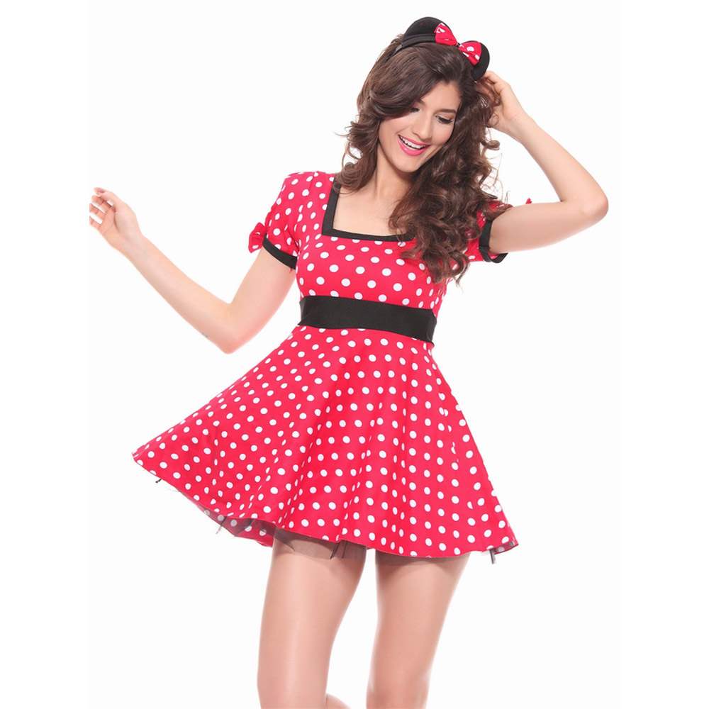 Mouse Dress Adult Halloween Costumes Mouse Costume For Women Cosplay ...