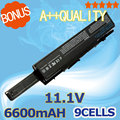 9 cells 7800mah  11.1v  Laptop Battery 312-0701 312-0702 A2990667 KM958 KM965 MT264 WU946  for DELL  Studio 1535  1536  1537