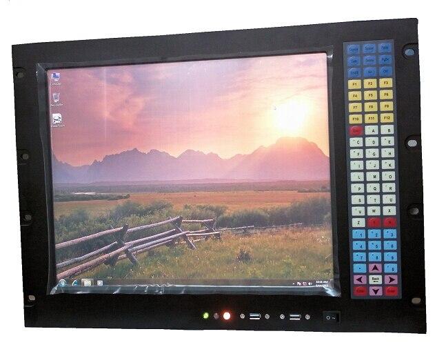 8U 17 inci Rack Mount panel pc, Core i3-3217U CPU, 4GB RAM, 500GB - Industri komputer dan aksesoris - Foto 2