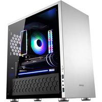 Jonsbo C3 PLUS Aluminum Glass Side Through The Chassis Support MATX Motherboard Big Power Long Graphics