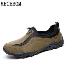 Hot sale autumn men's casual shoes plus size slip-on breathable flats Zapatos Hombre sapato masculino size 39-45 LA010M