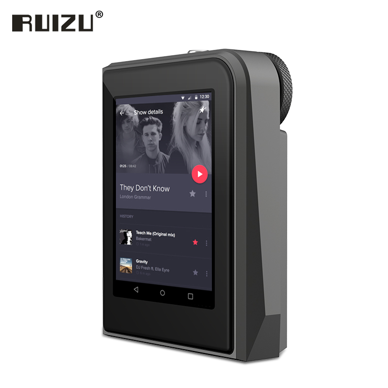 RUIZU A50 HD Lossless Mini Sport MP3 Player With 2.5 Inch Screen HiFi mp3 Music Player Support 128G TF Card/DSD256 High Quality ks 509 mp3 player stereo headset headphones w tf card slot fm black